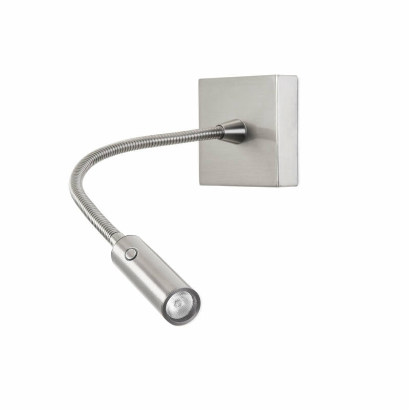 Leds-C4 TIP 05-5296-81-81 fali olvasólámpa szatinált nikkel acél