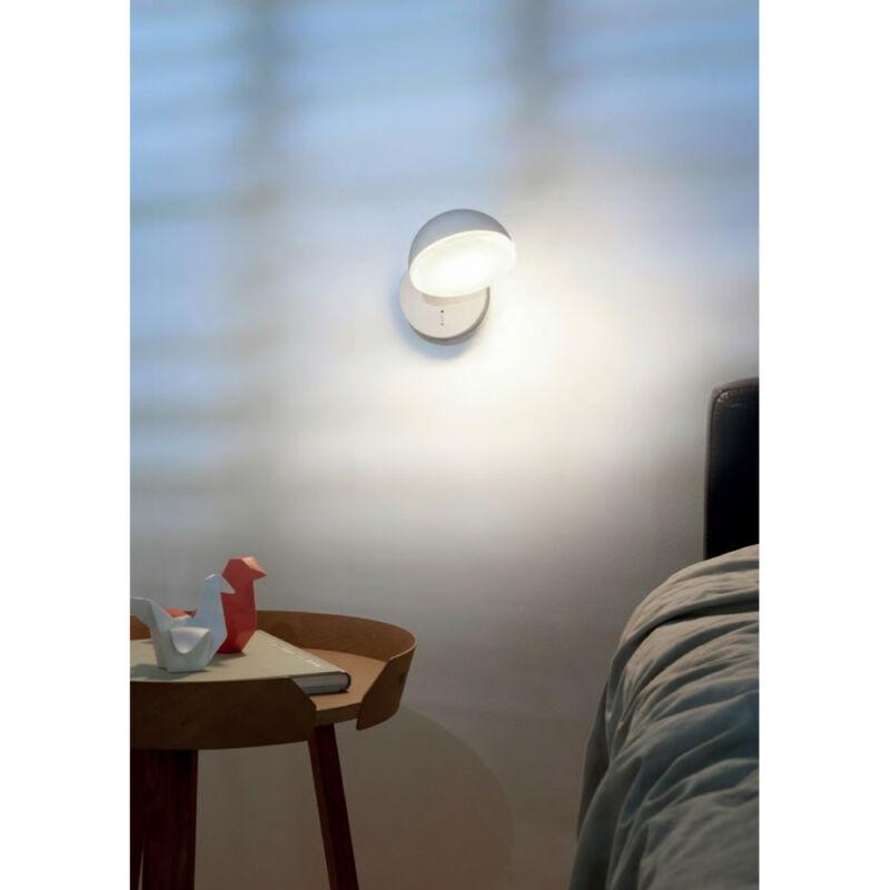 Leds-C4 TALK 05-5458-BW-F9 fali lámpa fehér fehér alumínium műanyag