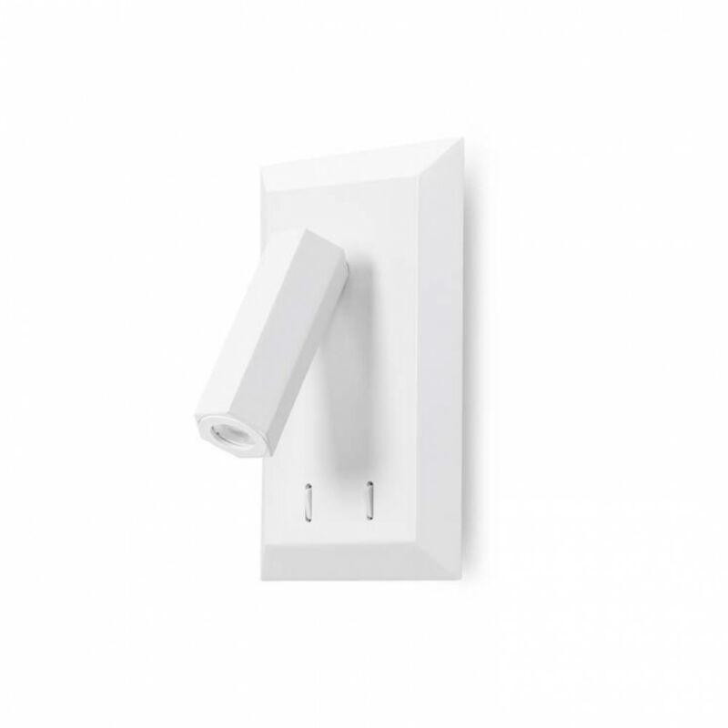 Leds-C4 CLASS 05-5949-14-14 fali lámpa fehér acél
