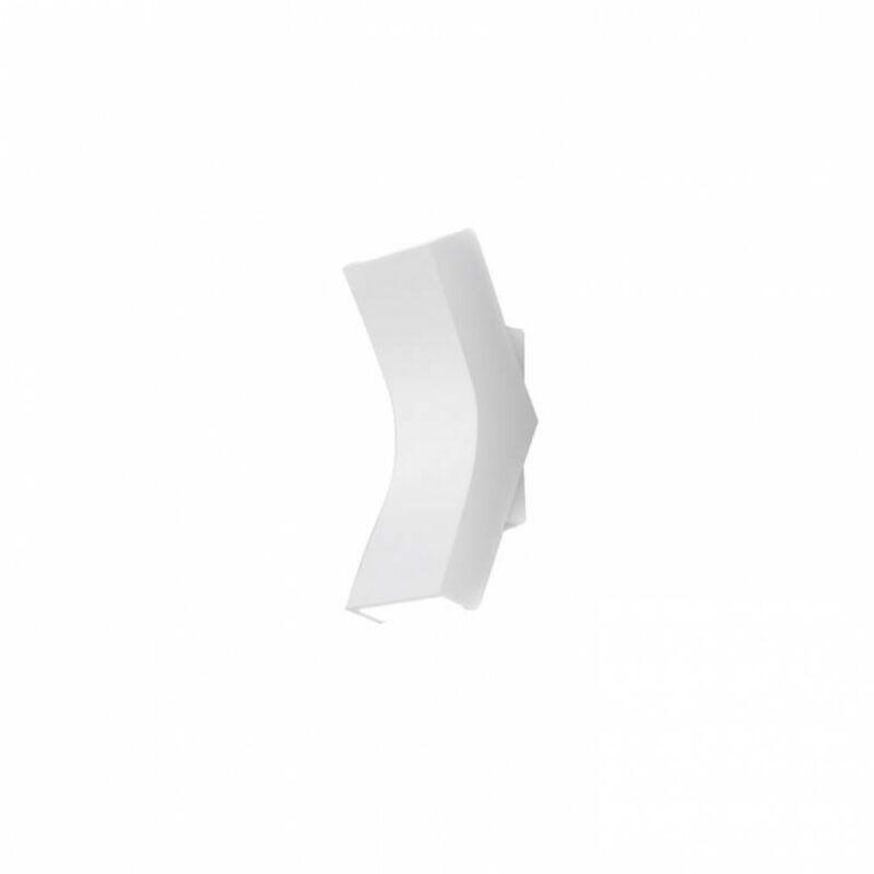Leds-C4 BEND 05-5954-BW-M1 fali lámpa fehér alumínium
