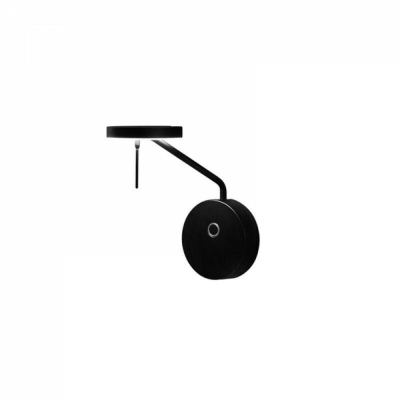 Leds-C4 INVISIBLE 05-7382-05-05 fali éjjeli lámpa fekete alumínium