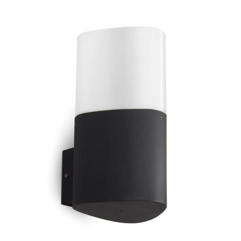 Leds-C4 MANDELA 05-9605-Z5-M1 kültéri fali lámpa  sötétszürke   műanyag