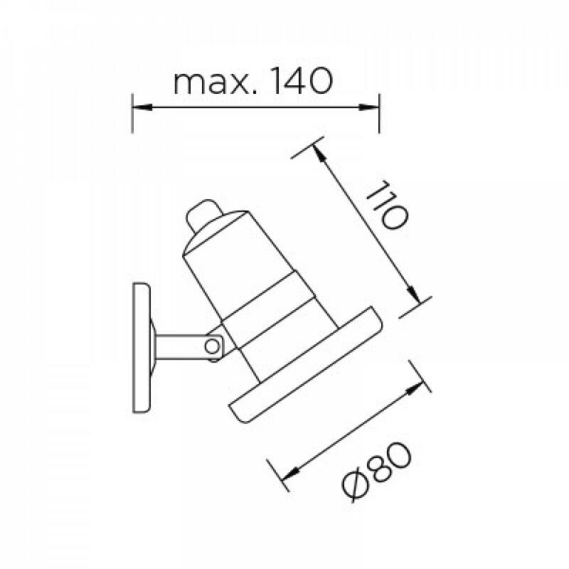 Leds-C4 AQUA 05-9889-CA-CL kültéri led reflektor  acél   átlátszó   acél   üveg