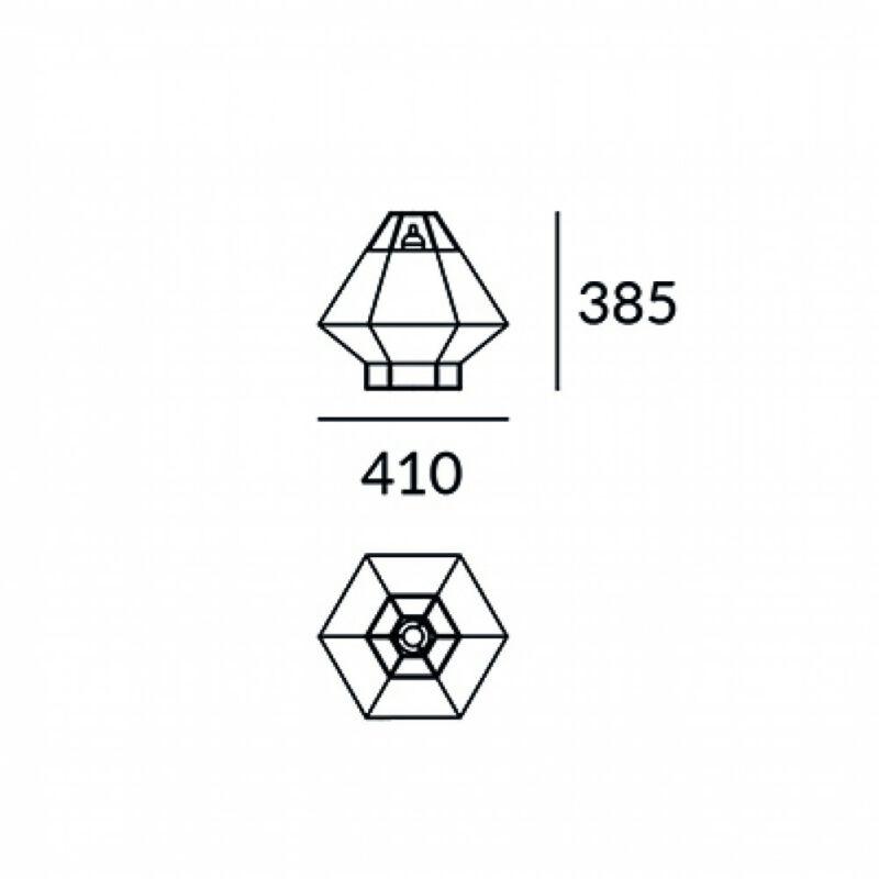 Leds-C4 LEGATO 10-5930-05-34 asztali lámpa  sárgaréz   szürke   acél   szövet