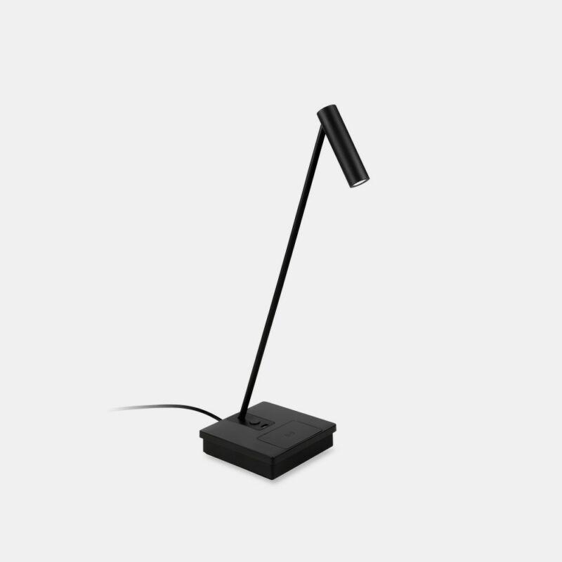 Leds-C4 ELAMP 10-7606-05-05 éjjeli asztali lámpa  fekete   alumínium