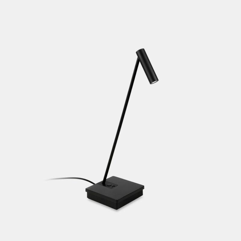 Leds-C4 ELAMP 10-7607-05-05 éjjeli asztali lámpa fekete alumínium