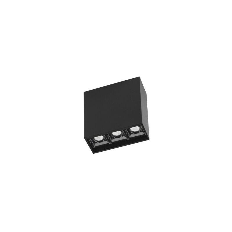 Leds-C4 BENTO 15-7098-60-60 beépíthető lámpa  fekete   alumínium