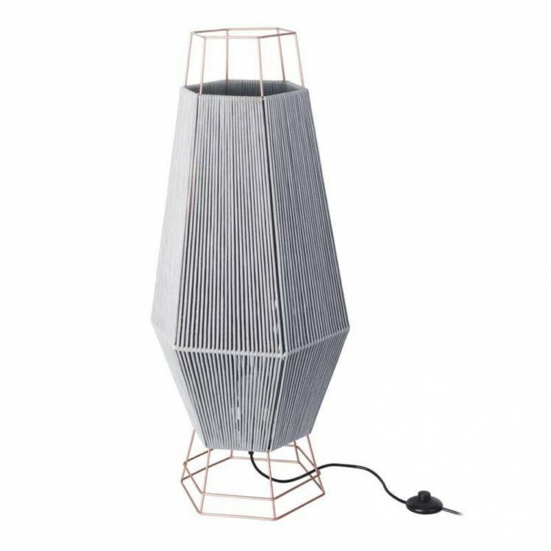Leds-C4 LEGATO 25-5931-05-34 állólámpa  réz   szürke   acél   szövet
