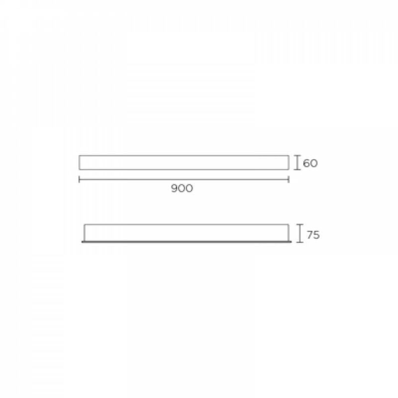 Leds-C4 BREMEN 284-CR fali lámpa króm acél