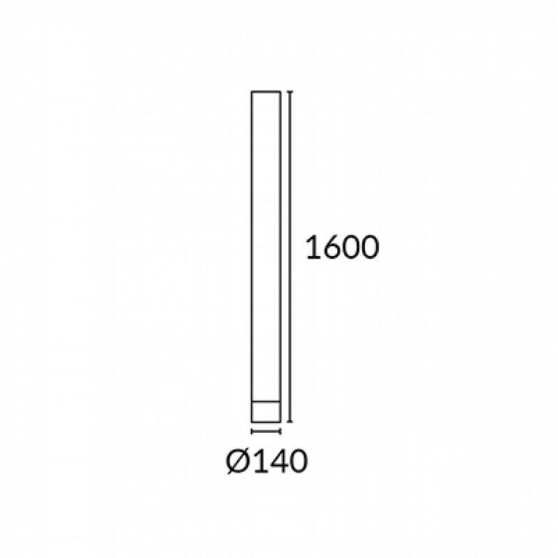 Leds-C4 ABERDEEN 337-AL állólámpa  fehér   műanyag