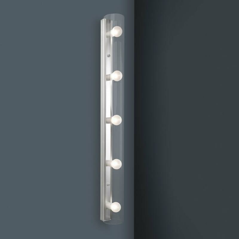 Leds-C4 MAKE UP 489-AL tükör világítás szürke üveg
