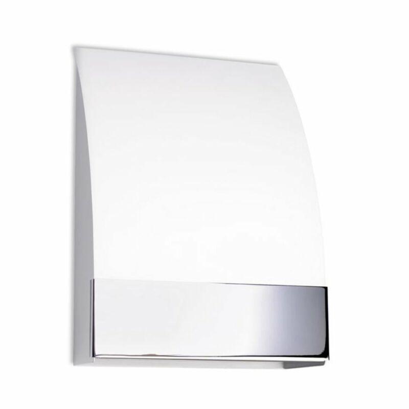 Leds-C4 NIZA 506-CR fali lámpa króm üveg