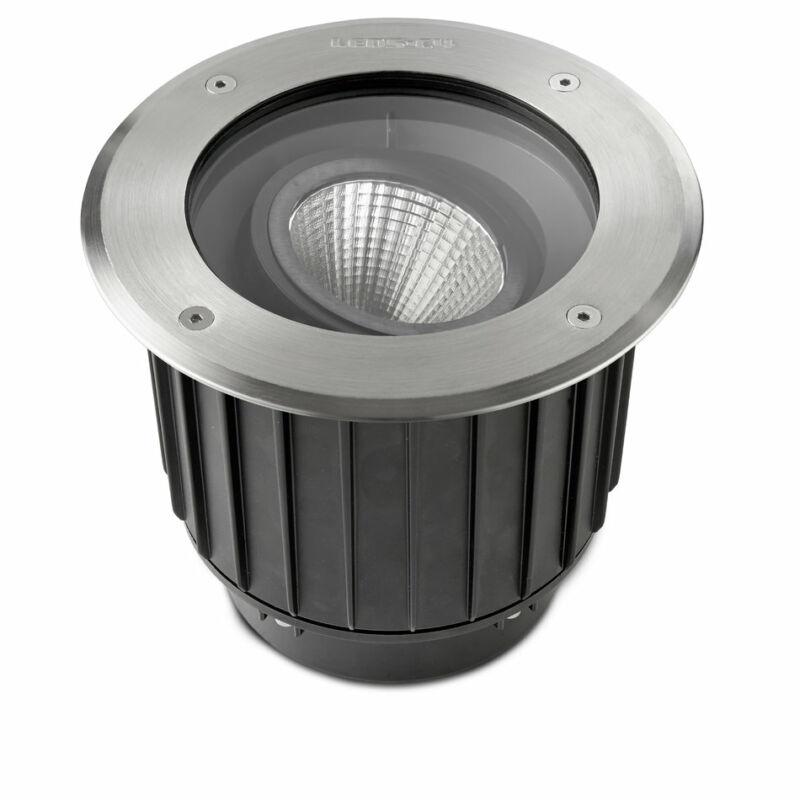 Leds-C4 GEA 55-9906-CA-CL kültéri beépíthető lámpa acél acél üveg