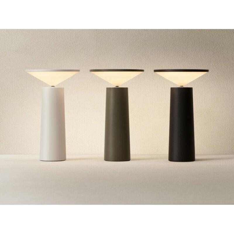 Leds-C4 COCKTAIL LED 10-8327-EX-EX ledes asztali lámpa oliva szatén alumínium műanyag