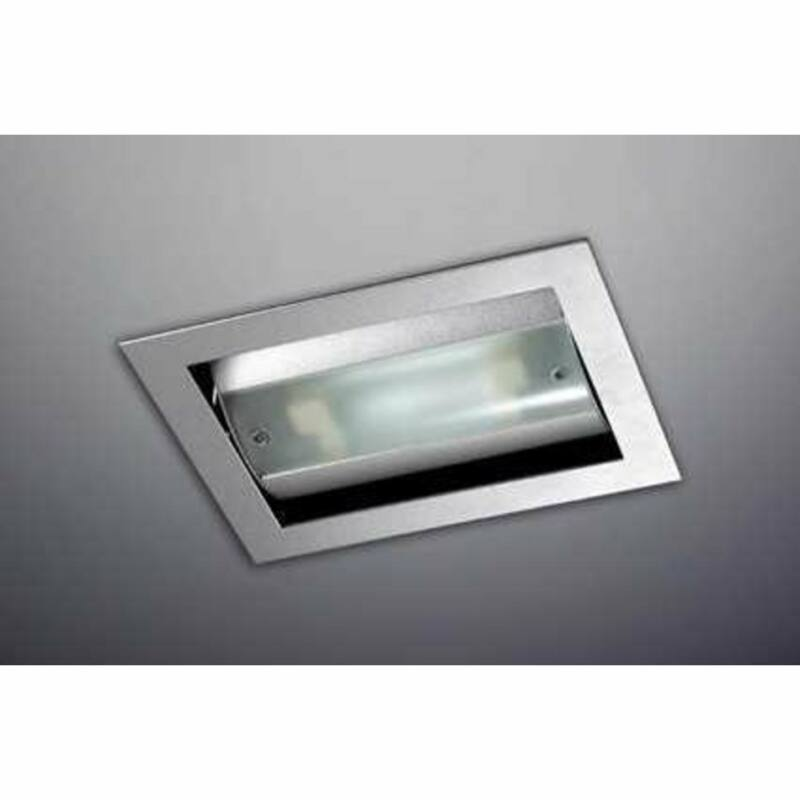 Leds-C4 DN-0277-N3-B9 Beépíthető lámpa szürke homokfújt alumínium üveg