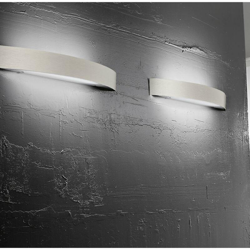 LineaLight CURVÉ 1030 fali lámpa  szatinált nikkel   fém