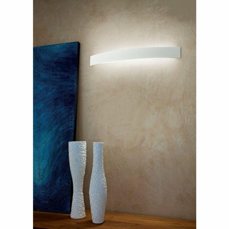 LineaLight CURVÉ LED 1143 fali lámpa fehér alumínium