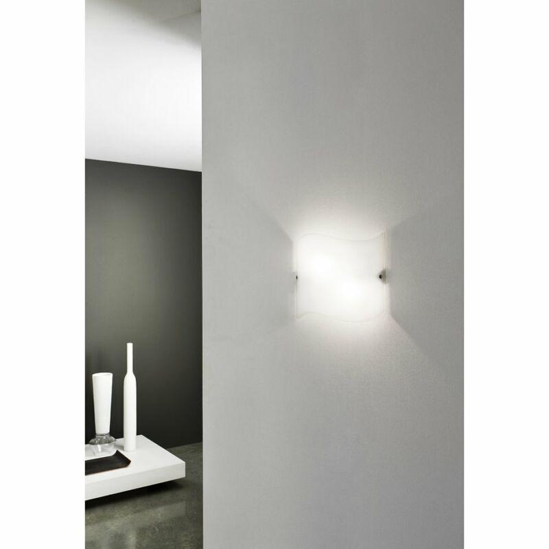 LineaLight ONDA 2405 fali lámpa fehér fém