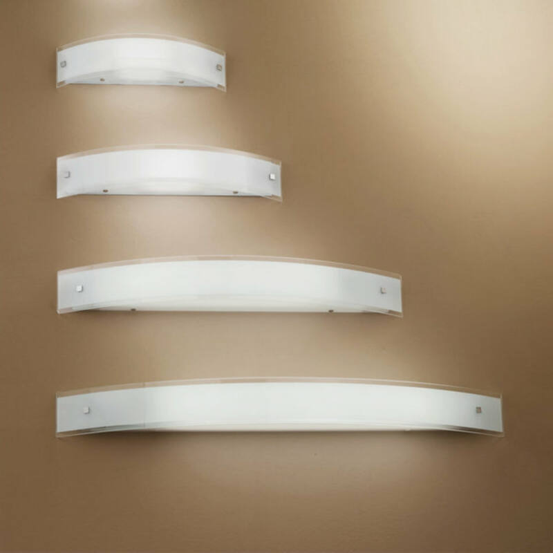 LineaLight MILLE 6845 fali lámpa  nikkel   fém
