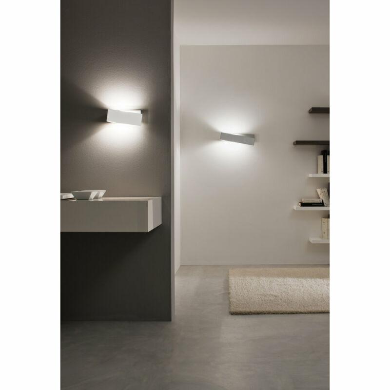 LineaLight ZIG ZAG 6990 fali lámpa  matt fehér   alumínium
