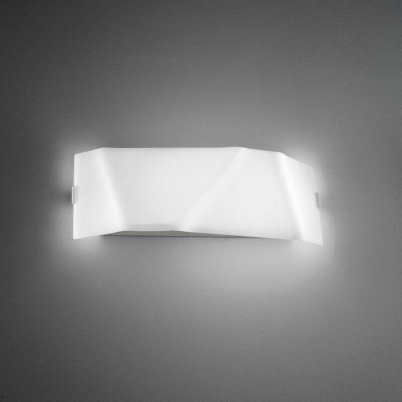 LineaLight FACE 7479 fali lámpa  fehér   üveg