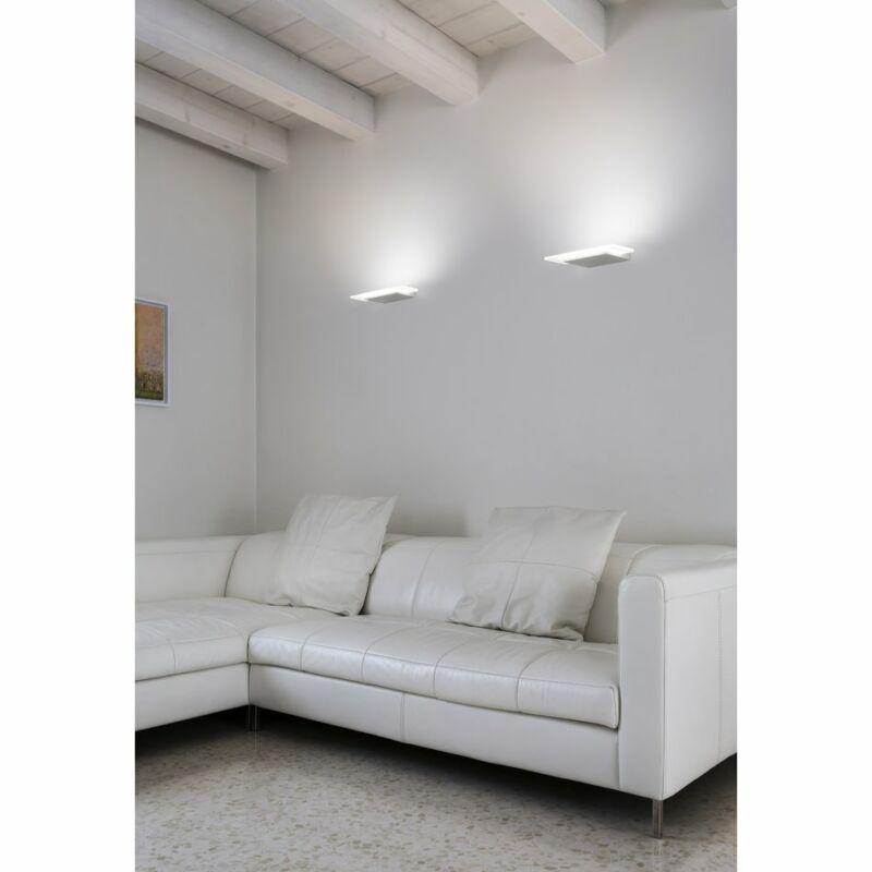 LineaLight DUBLIGHT LED 7487 fali lámpa  fehér   fém