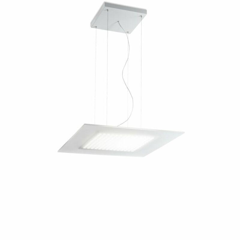 LineaLight DUBLIGHT LED 7494 led függeszték fehér fém