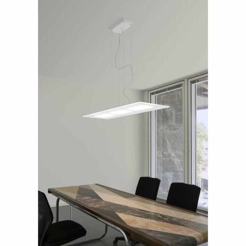 LineaLight DUBLIGHT LED 7493 modern függeszték fehér fém