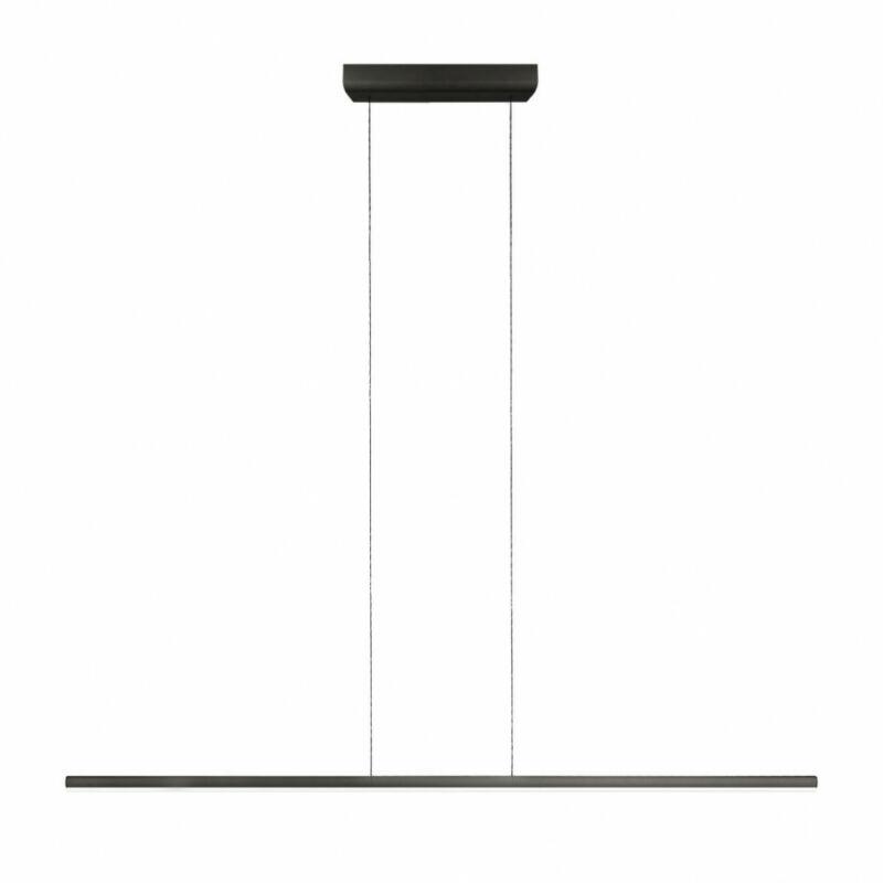 LineaLight Straight_P1 8205 modern függeszték fekete fém műanyag