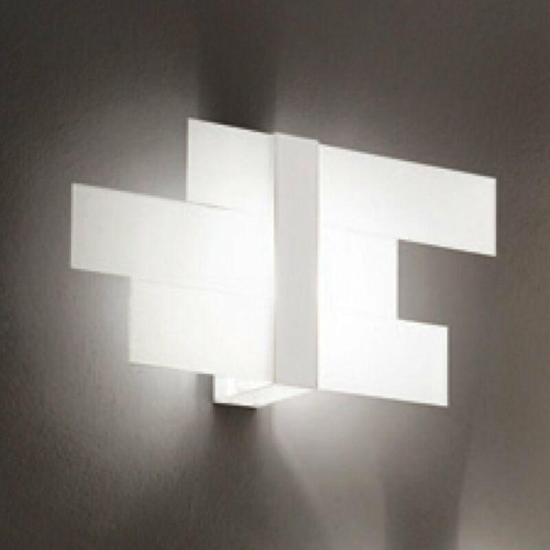 LineaLight TRIAD 90207 fali lámpa fehér fém