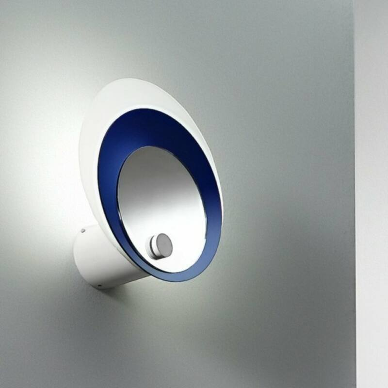 LineaLight HULA HOOP 90213 fali lámpa kék fém