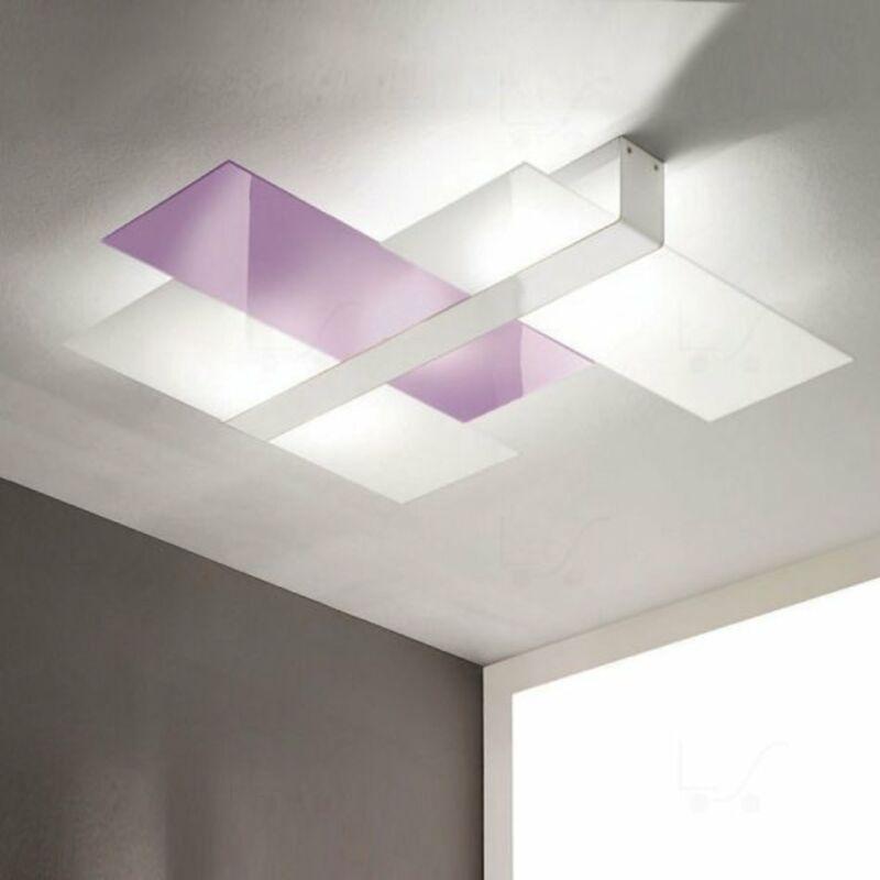 LineaLight TRIAD 90224 fali lámpa lila fém