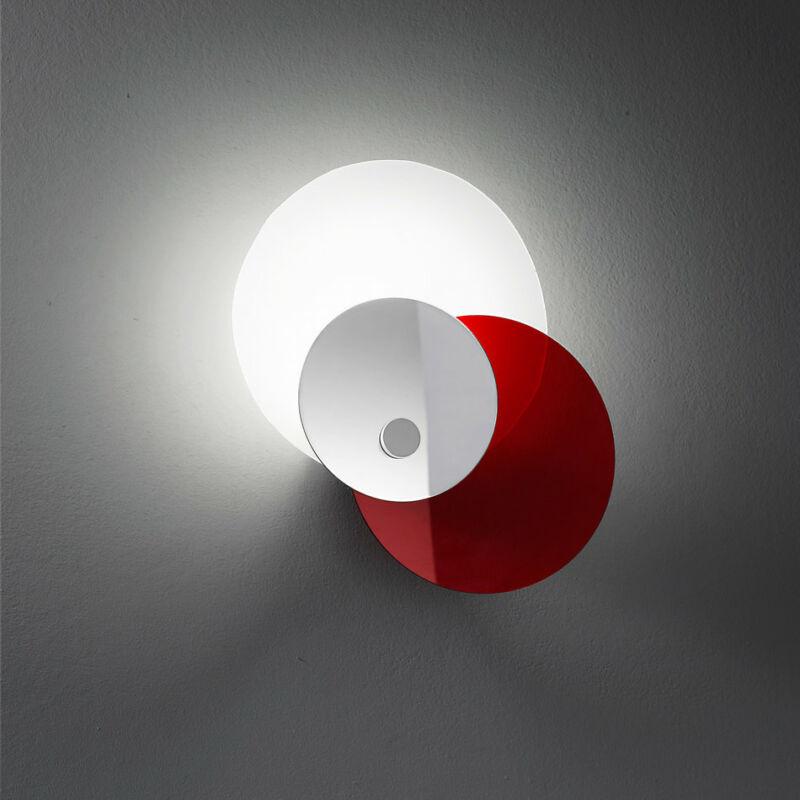 LineaLight HULA HOOP 90234 fali lámpa piros fém