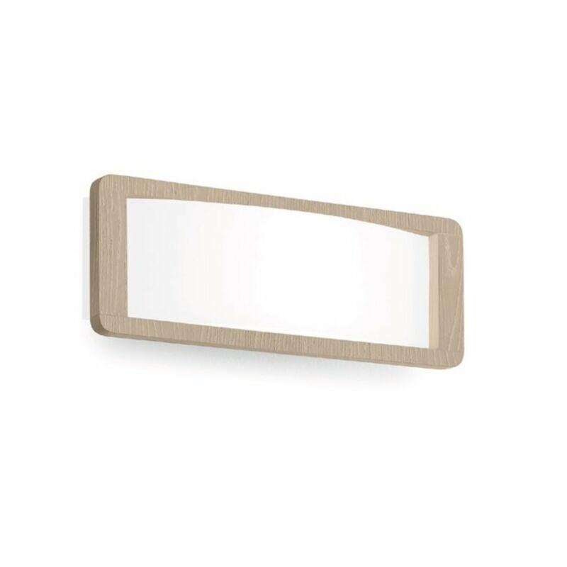 LineaLight SOLIDO 90256 fali lámpa  tölgy minta   üveg