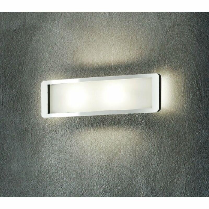 LineaLight SOLIDO 90262 fali lámpa  króm   üveg