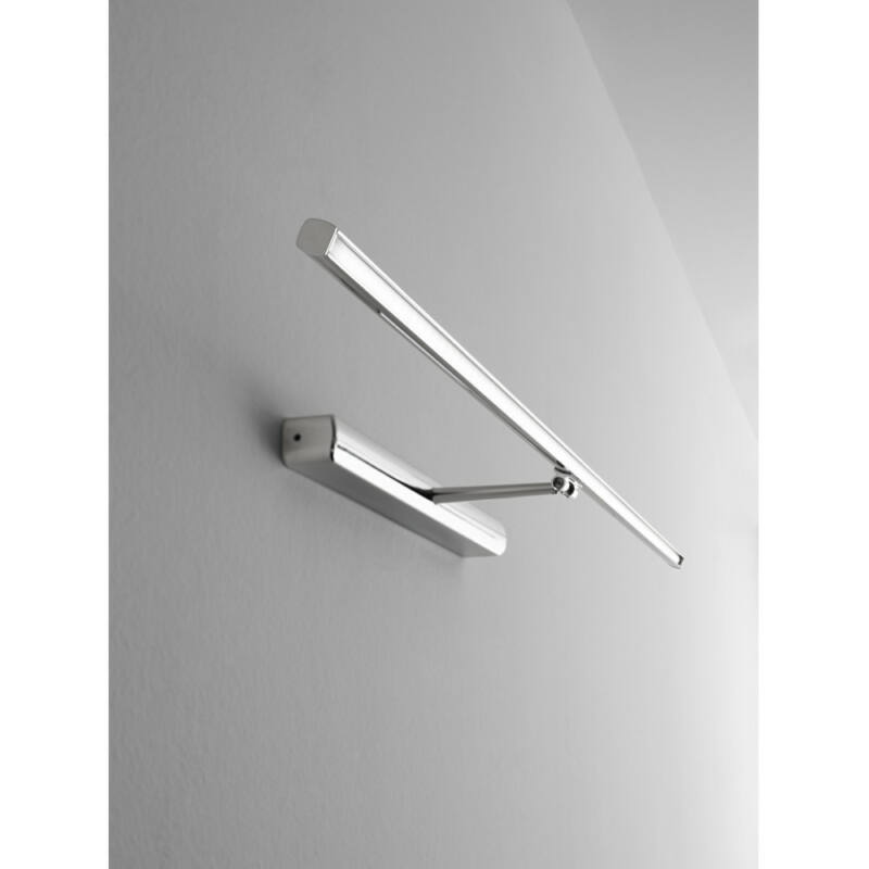 LineaLight Straight_W 8210 képmegvilágító lámpa fekete opál alumínium műanyag