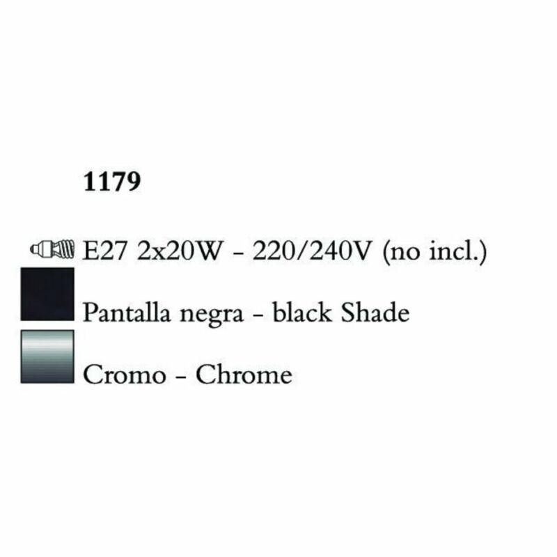 Mantra EVE 1179 állólámpa  króm   fém
