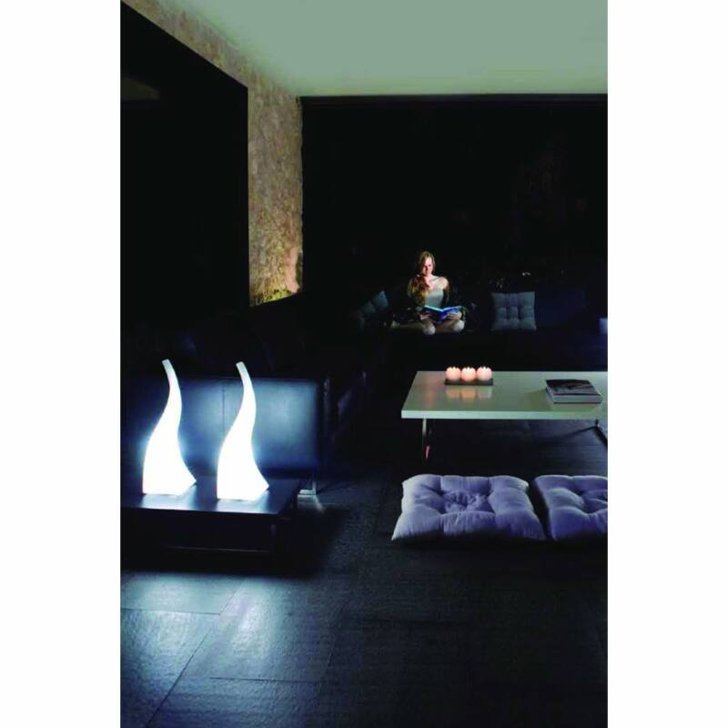 Mantra FLAME 1327 asztali lámpa  fehér   műanyag