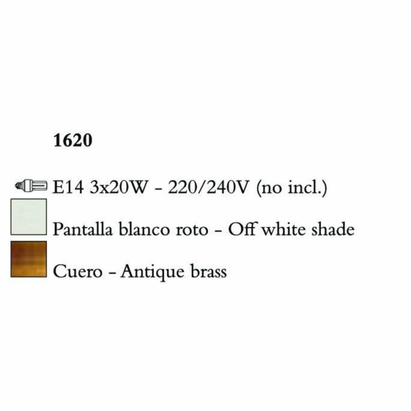Mantra MARA 1620 csillárok nappaliba  antik réz   fém