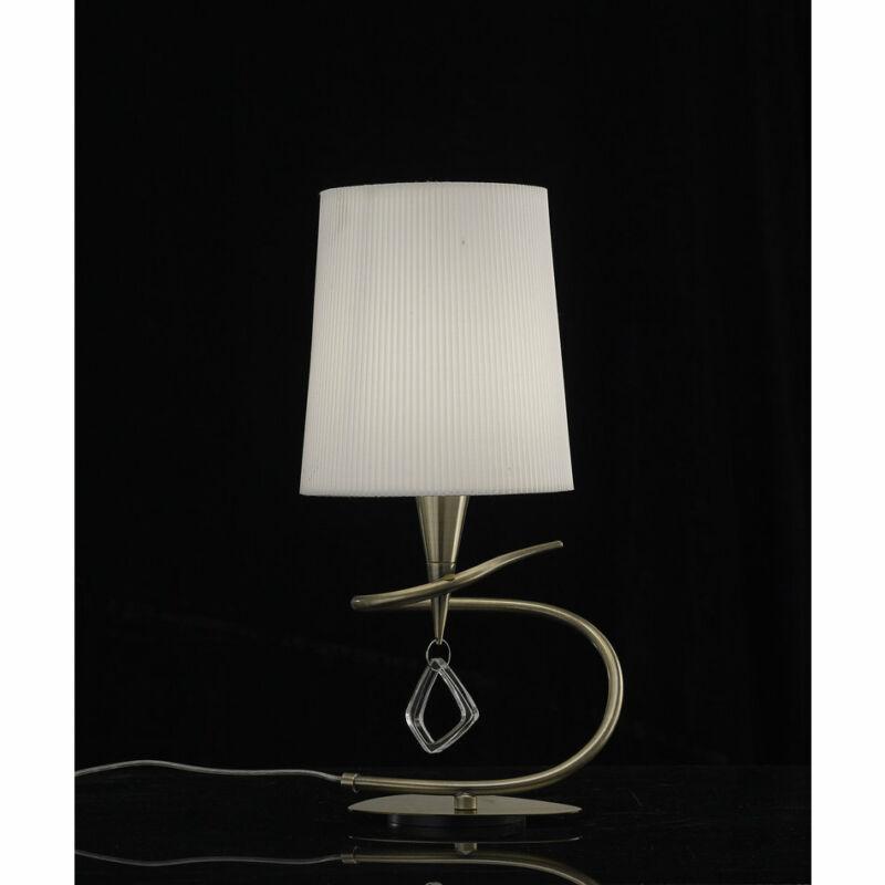 Mantra MARA 1629 asztali lámpa  antik réz   fém