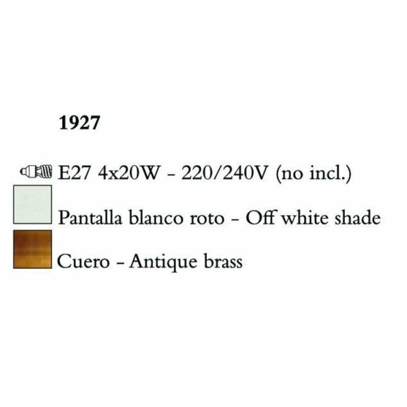 Mantra NINETTE 1927 állólámpa  sárgaréz   fém