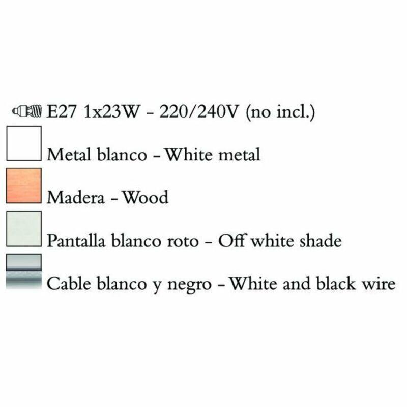 Mantra NORDICA 4920 állólámpa fém