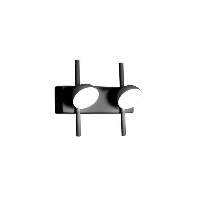 Mantra ADN BLACK 6420 fali lámpa fekete fehér alumínium akril