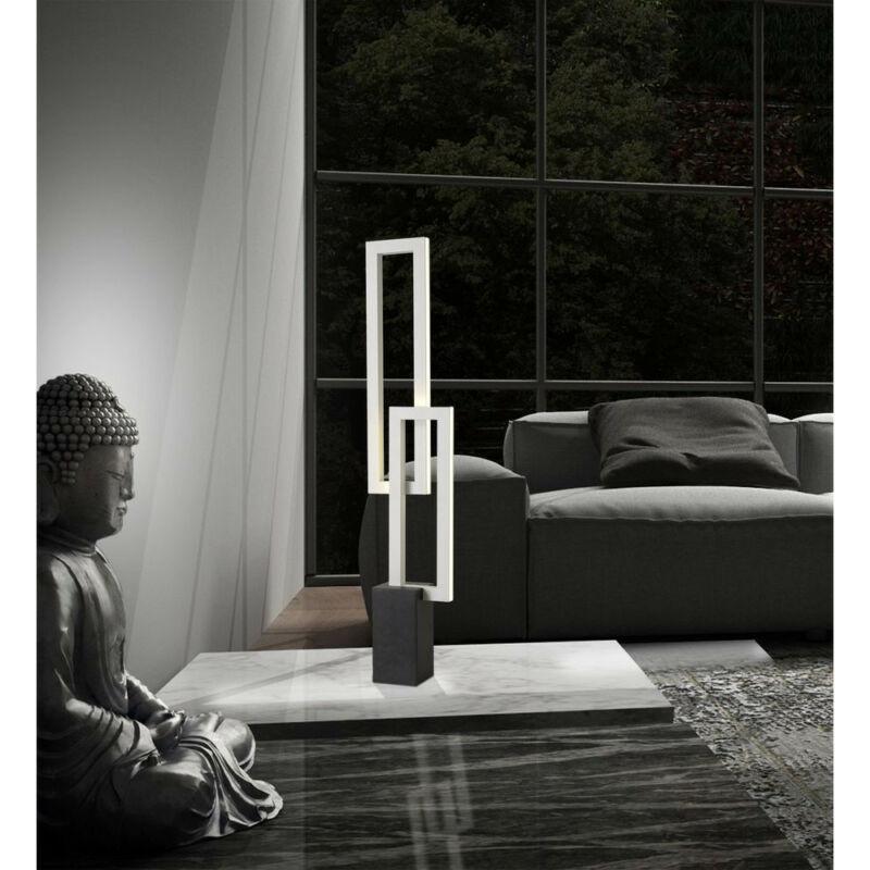 Mantra MURAL 6562 ledes asztali lámpa fehér fehér alumínium akril