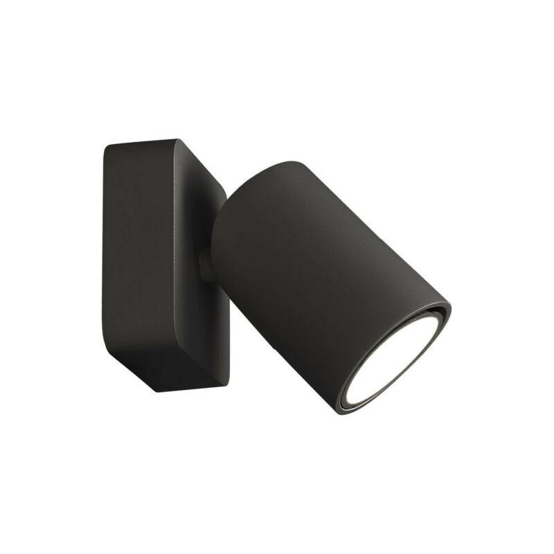 Mantra SAL BLACK 6713 fali lámpa matt fekete fekete alumínium akril
