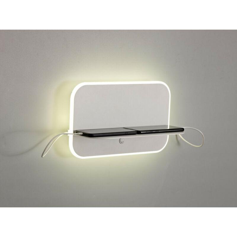 Mantra LANZAROTE 6875 fali lámpa matt fehér akril
