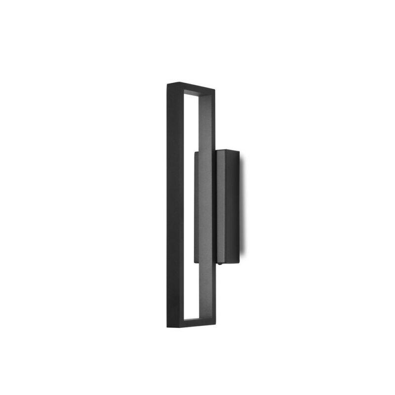 Mantra durban 7175 falikar fekete alumínium