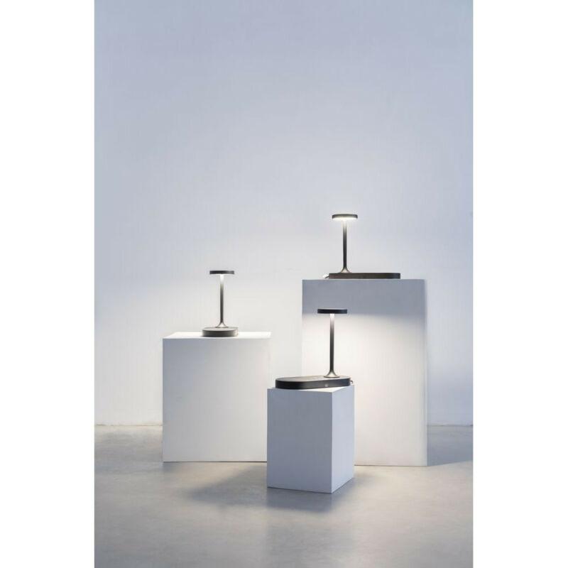 Mantra CERES 7291 éjjeli asztali lámpa fekete alumínium