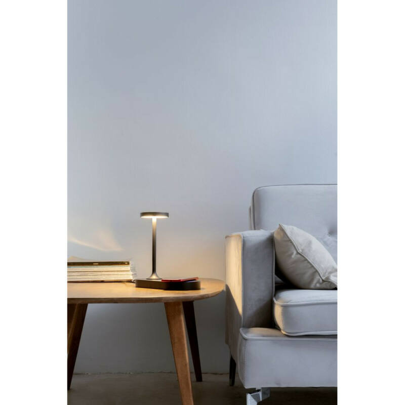 Mantra CERES 7291 éjjeli asztali lámpa  fekete
