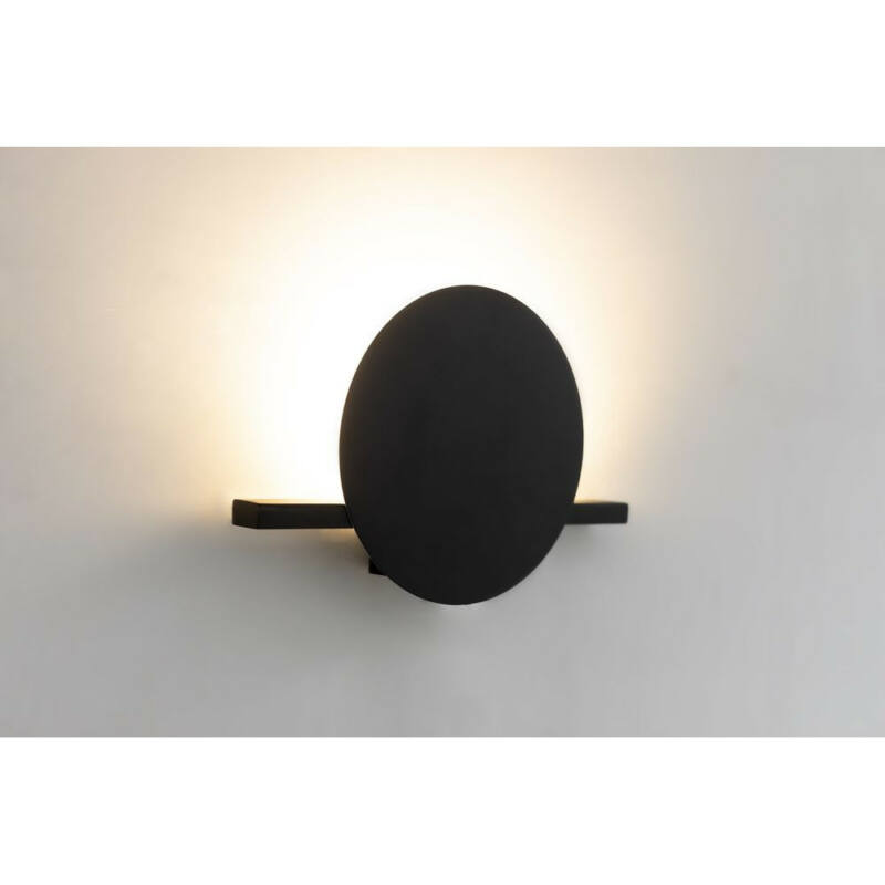 Mantra ERIS 7297 fali lámpa fekete alumínium